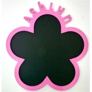 Chalkboard - PersonalisedFLOWER DESIGNchoose from over 20 coloursAvailable in 2 sizes