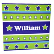 Boys Canvas Wall Art - Stars and Stripes