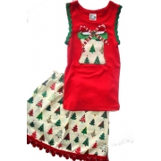 Christmas Clothing Girls Set - Present RedSize 1Last one left!