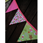 Bunting - Christmas Candy10 flags