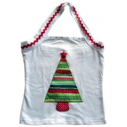 Clothes - Christmas Tree Red Potsizes 2 - 6 (halter)