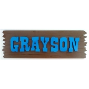 Saloon Name PlaqueChoose from over 30 colours for your letters