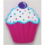 Artwork Hanger Set - Cupcake  - Hot PinkDisplay your child's pictures