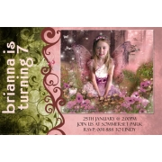 .Birthday Invitation featuring a 'Fantasy Photo'Over 40 themes to choose fromInvitation coordinated to your photo