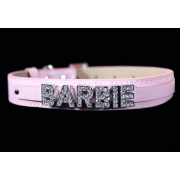 Pet Collar - Pink Bling (Personalised)Small or Medium