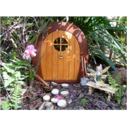 Fairy / Gnome Door (Rounded Shape)Suitable for outdoorsMagical outdoor fairy doors to capture your child's imagination