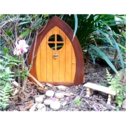 Fairy / Gnome Door (Pointed Shape)Suitable for outdoorsMagical outdoor  fairy doors to capture your child's imagination
