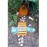 Fairy / Gnome Door/Bridge/Window/Stepping Stones SET (Suitable for outdoors)Magical outdoor set to capture your child's imagination