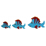 Wall Motif Set - FishPainted