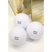 Golf Balls Personalised - For Dad