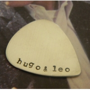 Guitar Pick Stamped Personalised