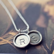 Imprint Stamped Necklace