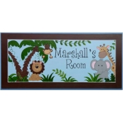 Name Plaque'Jungle'