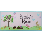 Name Plaque'Woodlands Friends - Girl'
