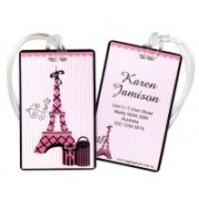 Paris Diva - Luggage Tag
