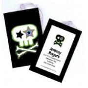 Skulls and Bones  - Luggage Tag