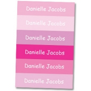 Personalised School LabelsBubba Pink - Labels Vinyl108 labelsfree shipping