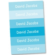 Personalised School LabelsBubba Blue - Labels Vinyl108 labelsfree shipping