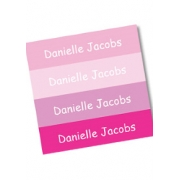 Personalised School LabelsBubba Pink - Labels IRON-ONS48 labelsfree shipping