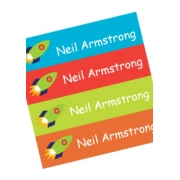 Personalised School LabelsRocket Power - Labels IRON-ONS48 labelsfree shipping