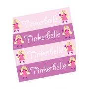 Personalised School LabelsTinkerbelle - Labels IRON-ONS48 labelsfree shipping