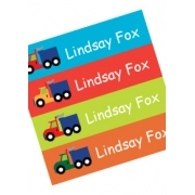 Personalised School LabelsKeep Truckin - Labels IRON-ONS48 labelsfree shipping