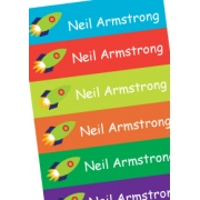 Personalised School LabelsRocket Power - Labels Vinyl108 labelsfree shipping