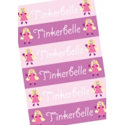 Personalised School LabelsTinkerbelle - Labels Vinyl108 labelsfree shipping