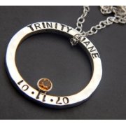 Mother Stamped Necklace