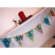 .Bunting -  CUSTOM banner with PERSONALISATION OF NAME/LETTERING REQUIRED - you choose your name/text, colour, theme, pattern.