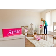 Night Light /Light box PersonalisedFuschia Pink Box