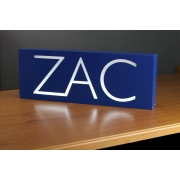 Night Light /Light box PersonalisedRoyal Blue Box