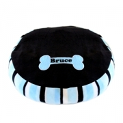 Pet Bean Bag Bed - Blue Stripe (Personalised)