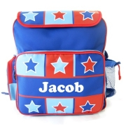 Backpack Personalised - Star Checks