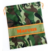 Library Bag Personalised - Camo