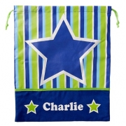 Library Bag Personalised - Stars and Stripes
