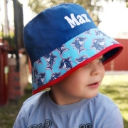 Hat -  Bucket Hat Personalised - Shark