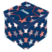 Storage Box Personalised - Star Burst