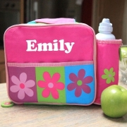 Lunch Bag Personalised Flowers