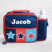 Lunch Bag Personalised Star Checks