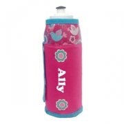 Water Bottle Personalised - Flower Blossom