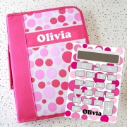 Personalised Stationery Pack - Pink Polka Dots