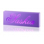 Night Light /Light box PersonalisedViolet Box