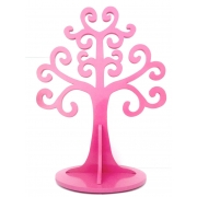 Jewellery Tree - LARGEChoose from over 20 coloursshown here in dark pink gloss