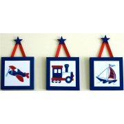 Travel Set - Blue & Red(Set of 3)