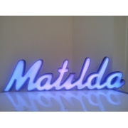 Scripted Name Night Light /Light box Personalised