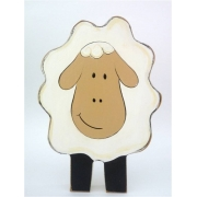 Wooden Block Freestanding sheep