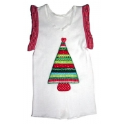 Clothes - Christmas Tree Red Potsizes 000 - 6