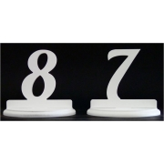 Wedding Table Numberspainted