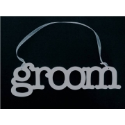 Wedding Sign / HangerGROOM